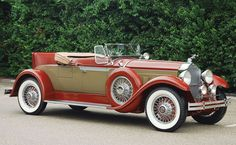 1929 Packard Model 640 Custom Eight Roadster
