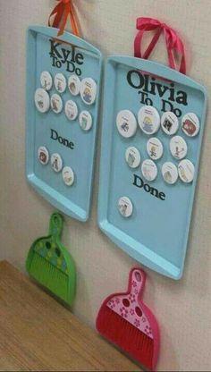 Chore chart.. So cute