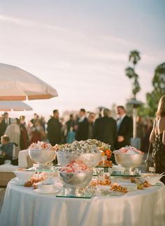 Wedding Reception Food Wedding Cocktail-Hour Food Ideas: Seafood Stations - Celebrate summer with a season-inspired seafood station during cocktail hour. Summer Wedding Menu, Wedding Reception Food, Wedding Catering, Wedding Ideas, Dream Wedding, Wedding Inspiration, Table Wedding, Wedding Signage, Wedding Themes
