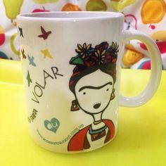 Hermosas Tazas De Frida Kahlo, Diseño Único! Bs.F.350 SZZ5k - Precio D Venezuela