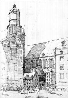 St. Elizabeth's Church, Wroclaw by onverra