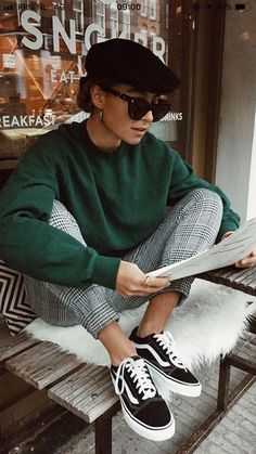 20 Edgy Fall Street Style 2018 Copy Outfits - Cool S .- 20 Edgy Fall Street Style 2018 Outfits zum Kopieren – Cool Style 20 Edgy Fall Street Style 2018 Outfits for Copy - Street Style Vintage, Parisian Style, Parisian Wardrobe, Vintage Style, Parisian Fashion, Vintage Ideas, Street Style 2018, Autumn Street Style, Amsterdam Street Style