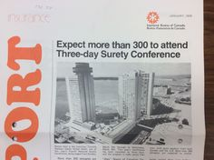 How Harbourfront looked like in Hilton Hotel was the venue of the IBC Surety Conference.