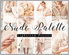 Get the nude velvet look to your photos with a 4 Pack Lightroom Preset. You can get it just by clicking on the photos. Lightroom Presets, Your Photos, Palette, Nude, Lifestyle, Trending Outfits, Wedding Dresses, Photography, Velvet