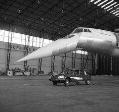 Citroën DS and Concorde