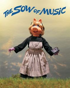 The Sow of Music!! Ok I just had to pin it. Sorry.