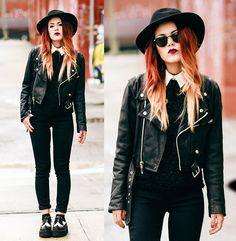 Code Black. - I love this grunge look