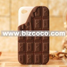 Melting chocolate bar phone case.