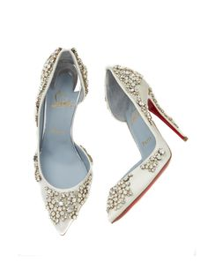 【ELLE】ブライダルエディターが推す! 花嫁シューズBEST5 これぞヒロインのための美靴! 「クリスチャン ルブタン」の最新作が大集結 エル・オンライン
