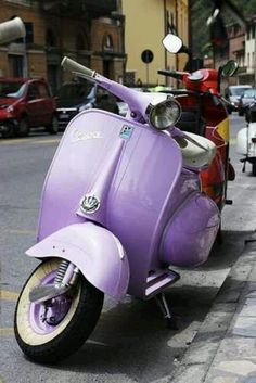 Scooter purple