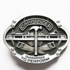 Carpenter Belt Buckle