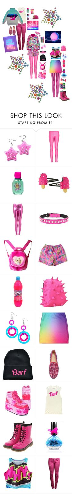 """""""shut it"""" by astral-leech ❤ liked on Polyvore featuring Thomas Wylde, Mattel, Topshop, Zara Home, MadPax, Giuseppe Zanotti, Boohoo and Moon Collection"""