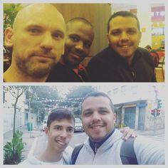 É unanimidade vir a São Paulo e sempre encontrar AMIGOS que são quase IRMÃOS. Guardo um carinho muito grande por estes que me acolhem me amam e fazem questão de estarem comigo nem que seja por minutos. Obrigado pelo carinho companhia e AMOR. Amo muito vocês.  #SP  #Trip  #Frio  #Friozinho  #Sampa  #SaoPaulo  #Amigos #Friends #OsAmigos