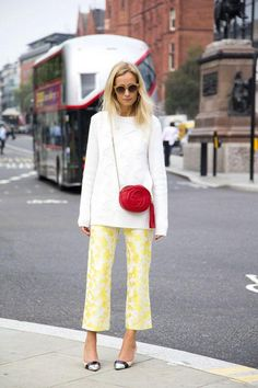 20 street style pics to inspire your work wardrobe - click to see them all