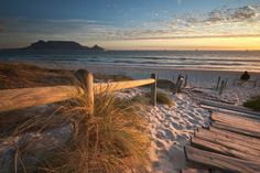 Bloubergstrand, Western Cape, South Africa (with Table Mountain in the background)