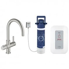 Grohe Red™ Duo Kitchen Sink Mixer Tap and Single Boiler (4 Liters) - 30058DC0