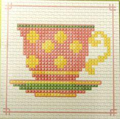 #teacup #cross_stitch