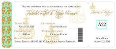 Las Vegas Wedding invitation Vintage boarding pass by anaderoux Vegas Wedding Invitations, Wedding Invitation Design, Boarding Pass Invitation, Ticket Invitation, Wedding Locations, Wedding Themes, Vegas Party, Travel Dating, Las Vegas Weddings