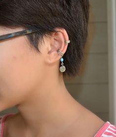 New diy jewelry ear cuff etsy Ideas Ear Cuff Tutorial, Earring Tutorial, Diy Tutorial, Diy Wedding Garland, Diy Wedding Dress, Ear Cuffs, Wire Wrapped Jewelry, Wire Jewelry, Jewlery