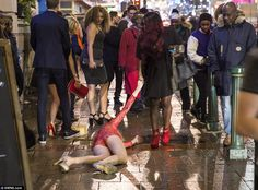 When New Year's Eve got messy: How celebrations got too much for some #dailymail