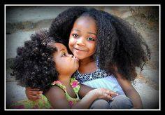 Little natural hair beauties!