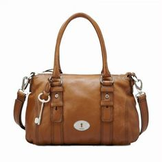 Fossil Schoudertas Maddox Leather