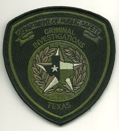 Texas DPS CID patch