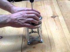 Video on how to make french press coffee to enjoy the delicious, rich flavors of the coffee brewed with a french press coffee maker.
