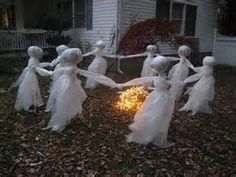 For when the kids are much older. This is scary decorating.