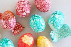 Crackled Easter Eggs