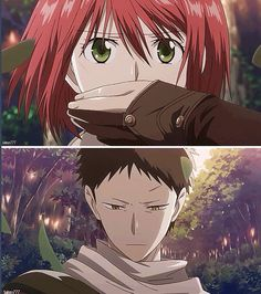 "Akagami Obi ""I came to protect you."""