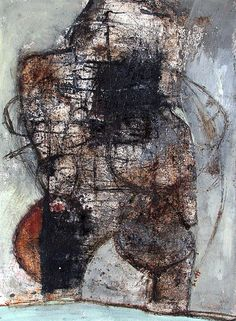 """If You Feel Inclined"" by Scott Bergey - mixed media on paper"