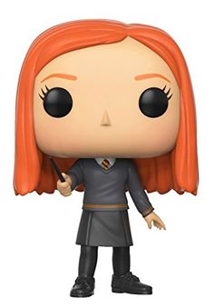 Funko Pop Movies: Harry Potter-Ginny Weasley From harry potter, ginny weasley, as a stylized pop vinyl from funko! Stylized collectable stands 3 ¾ inches tall, perfect for any harry potter fan! Collect and display all harry potter pop! Harry Potter Film, Harry Potter Ginny Weasley, Funko Pop Harry Potter, Ron Weasley, Bellatrix Lestrange, Lord Voldemort, Remus Lupin, Funko Pop Figures, Pop Vinyl Figures