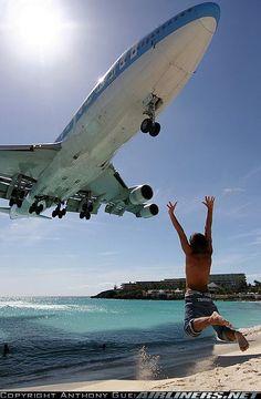 Boeing 747-422 @ St. Maarten - Princess Juliana Intl Airport  Gregorio Valdez