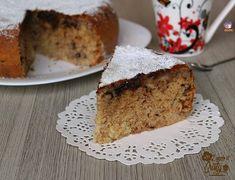 Torta super soffice alla banana e cioccolato. Hacer comparando y completando con la torta al limone (cookaround) que es bastante parecida.