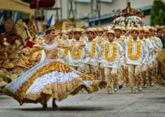 The Sinulog is an annual festival held on the third Sunday of January in Cebu City and Maasin City, Southern Leyte, Philippines[1] The festival commemorates the Bisayan peoples pagan origin, and their acceptance of Christianity. | Sinulog 2012 depicts Cebu as 'City of Culture'