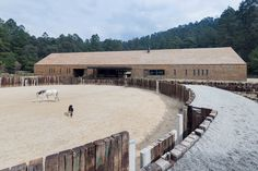 Equestrian Centre in Valle de Bravo, Mexico by CC Arquitectos