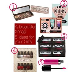 """Beauty ideas for Xmas Gifts:"" by georginabrown on Polyvore"