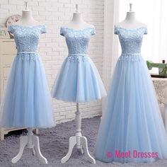 Off Shoulder Long Tulle Prom Dresses Lace Appliques Women Dresses PD20189169