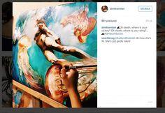 Unet maalauksiksi: Taitava nuori taiteilija ikuistaa unensa kankaalle - katso kuvat