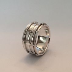 Snare Drum Ring In Smaller Sizes by LeaFloriaJewellery on Etsy