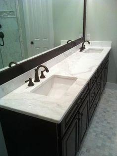 Wonderful Kitchen U0026 Bath Remodeling Showroom Scottsdale AZ This Bathroom Includes  Ju0026Ku0027s White Shaker Style Cabinets Which Showcase The Gray Quartz Countertopu2026