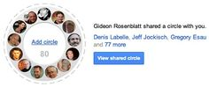 I am blessed to be featured in Circle #7. Many thanks to Gideon Rosenblatt » 10 Google+ Circles Marketers Should Follow http://on.mash.to/Pcz0Gg #GooglePlus