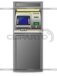 Банкомат   Векторный клипарт   ID 3138231 Kitchen Appliances, Vector Art, City, Diy Kitchen Appliances, Home Appliances, Kitchen Gadgets