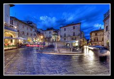 Assisi di notte - by Giuseppe Peppoloni