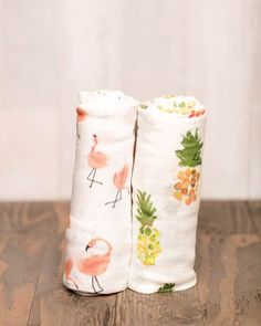 Deluxe Swaddle Set - Pink Ladies - Pre-order now!