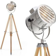 Alfred Tripod Spotlight Floor Lamp - ideapedia, the idea hub
