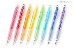 Pilot Color Eno Mechanical Pencil - 0.7 mm - 8 Color Bundle - JETPENS PILOT HCR-197 BUNDLE