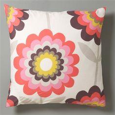Poppy pillow case
