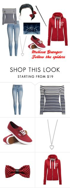 """Melissa Granger- Follow the spiders"" by unitedbypotter ❤ liked on Polyvore featuring H&M, Vans, Yves Saint Laurent, ZuZu Kim and Superdry"